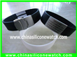 Stainless Steel Silicone ID Bracelet