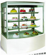 Luxury Fully Transparent Cake Display Cabinets