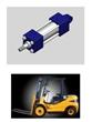 heavy duty hydraulic cylinder for fork lifter