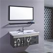 Black Bathroom Vanity Unit