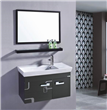 Black Bath Vanity Cabinet
