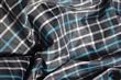 Plaid Taffeta Fabric