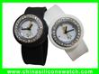 Diamond Silicone Snap Watch
