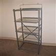 5 Shelves Wire Floor Display