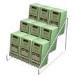3-Tier Wire Countertop Display