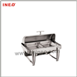 Counter-Top Style Stainless Steel Buffet Hot Food Display Showcase And
