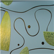 decorative interior door glass