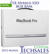 NEW 15.4 Apple Macbook Pro 2.3GHz i7 8GB 1TB Hybrid SSD MD103LL/A