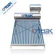 Horizontal assistant tank solar water heater