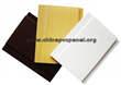 popular colorful popular PVC panel