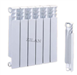 Bimetallic bathroom radiator