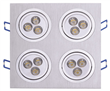 4*3*1W LED Downlight