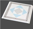 Hot Stamping PVC Ceiling Panel