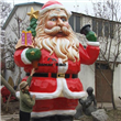 Cartoon Santa Claus Sculpture