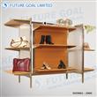 Steel Garments Racks / Metal Display Shelf
