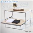 Two Layers Of Metal Display Table / Garment Table