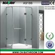 Bathroom Hinge Indoor Glass Waterfalls A9186