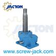 gear lifting jack mechanism