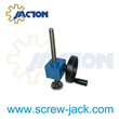 hand cranked mechanical screw jacks