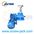 electric worm gear screw lift jack