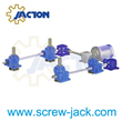 motorized vertical screw lift furnace