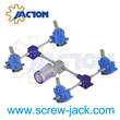 motorized screw lift furnace