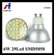 Gu10 6W 29Led SMD Spot Light Ce RoHS