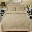 Desirat Carved Faux Fur Comforter Set