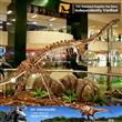 Education dilophosaurus dinosaur fossil