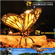 Animatronic butterfly insect in Singapore science centre exhibition