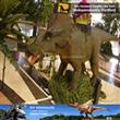 Mall Children Dinosaur Rides