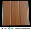 30cm two groove laminated pvc wall panel