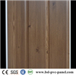 New 30cm 9mm two groove laminated wood grain pvc wall panel