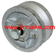 4 x 2 Wide Cast Iron V-Groove Wheel,sliding gate wheel