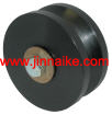 4 Hard Plastic V-Groove Wheel With Bronze Bushings
