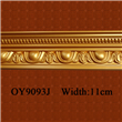Gold color PU Carved Cornice