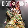 digital print poly fabric