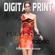 digital print on poly fabric