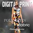 digital print polyester satin fabric