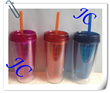 2014 custom design for promotion quality plastic straw cup