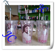 2014 custom design for promotion plastic straw bottle