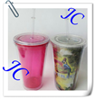 2014 custom design for promotion quality straw bottle by factory