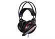 Cool Backlight White & Black Stereo Gaming Headphone , gaming microph