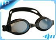 Black Silicone Polarized Prescription Swimming Goggles For Kids