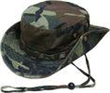 Outdoor Activities Camouflage Bucket Hat for Camping Traveling