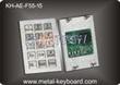 Vending Kiosk Metallic Industrial Keypad , Anti - vandal waterproof k