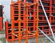 Steel Framed Plywood Concrete Formwork Systems High Protected Painted