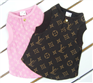 Louis Vuitton dog tee shirt,pet clothes