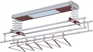 Outdoor electric remote clothes drying rack