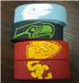 1 inch silicone bracelets